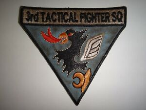 US Air Force 3rd TACTICAL FIGHTER SQUADRON Vietnam War Patch