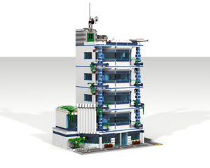 Lego-Bauanleitung MOC St.Thomas Hospital NEU