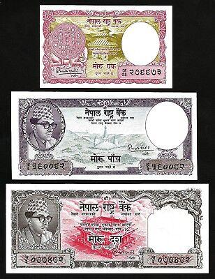 1 Mohru Nepal 1960 P-8 aUNC ND