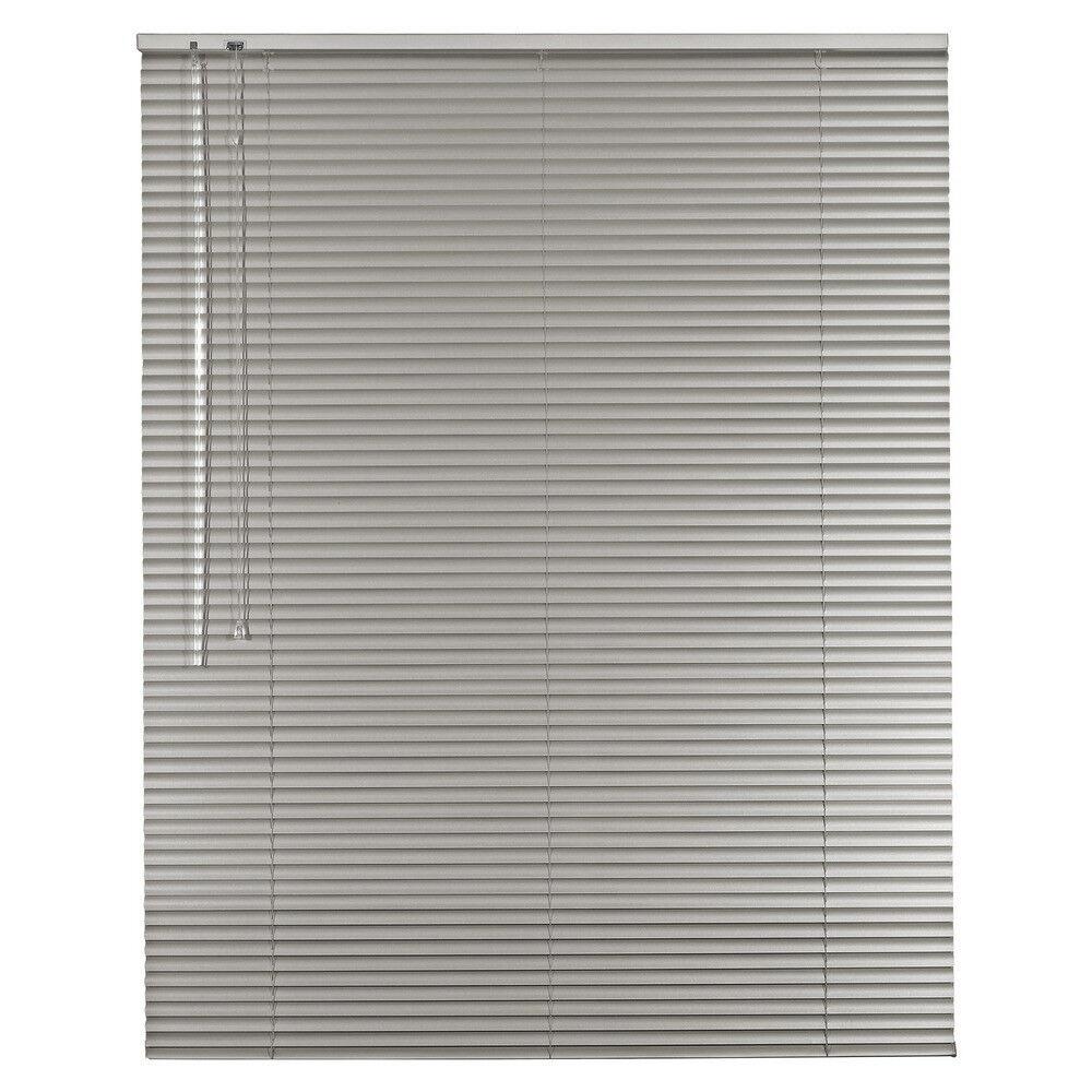 Aluminium Jalousie Alu Jalousette Jalusie Fenster Tür Rollo - - - Höhe 120 cm grau | Angemessener Preis  56c820