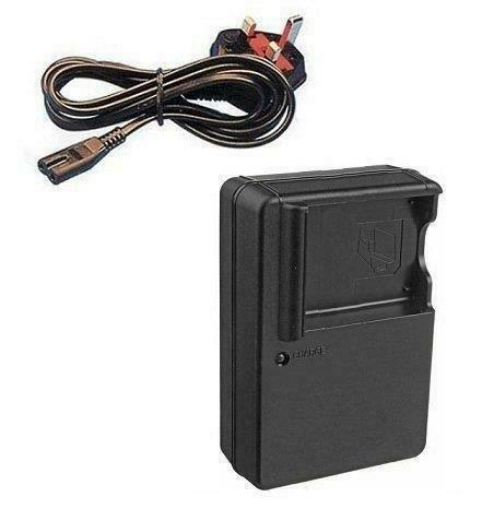Mains Wall Battery Charger DE-A40 For Panasonic SDR-S26 SDR-SW28 Cameras
