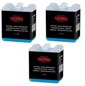 Thermos Mini Ice Packs 6 X 100 G pour cool Sacs /& déjeuner boîtes