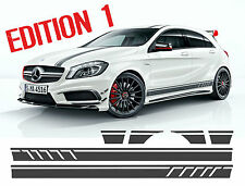 Mercedes Edition 1 Style Side Stripe Graphics Stickers - W176 A Class AMG A45