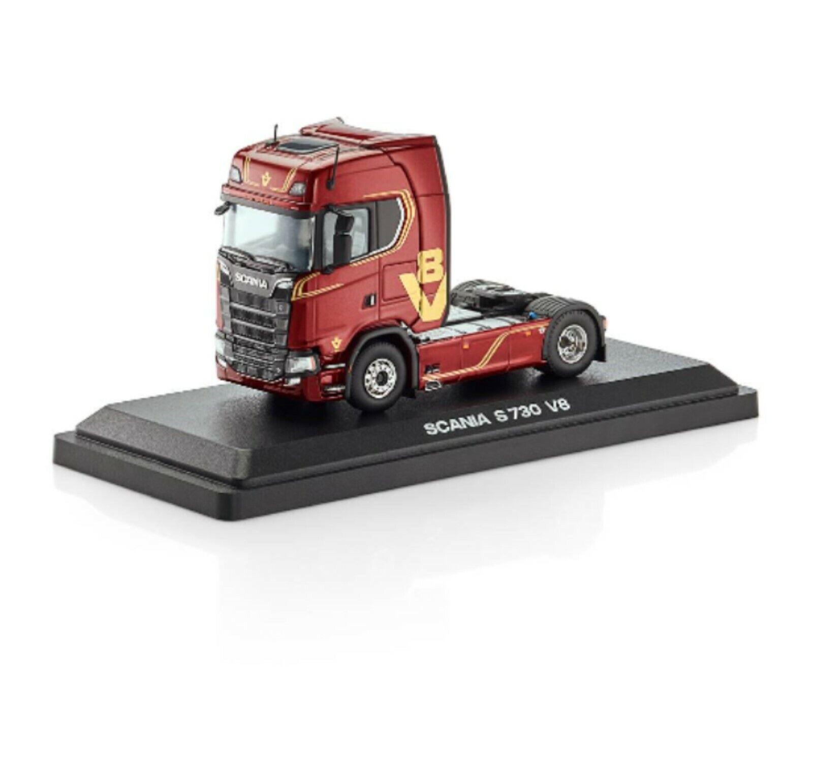 ahorra 50% -75% de descuento Scania S 730 V8 4 X 2 Camión Camión Camión Tractor Rojo en caso de exhibición Tekno Nuevo  moda