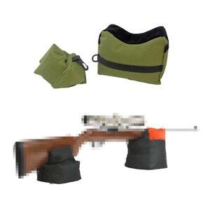 New-Tactical-Shooting-Bag-Set-Front-Rear-Bench-Gun-Rest-Range-Rifle-Target-Stand