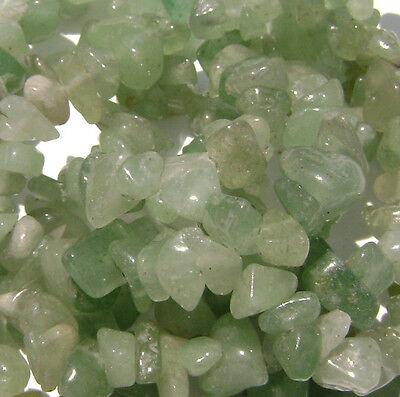 "Gemstone Gem Chip Bead Jade Jusper Quartz Fluorite Sodalite Mix MANY COLORS, 36"""