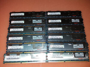 Hynix-72GB-18x4GB-PC3-10600R-DDR3-1333MHz-ECC-HMT151R7BFR4C-Workstation-ram
