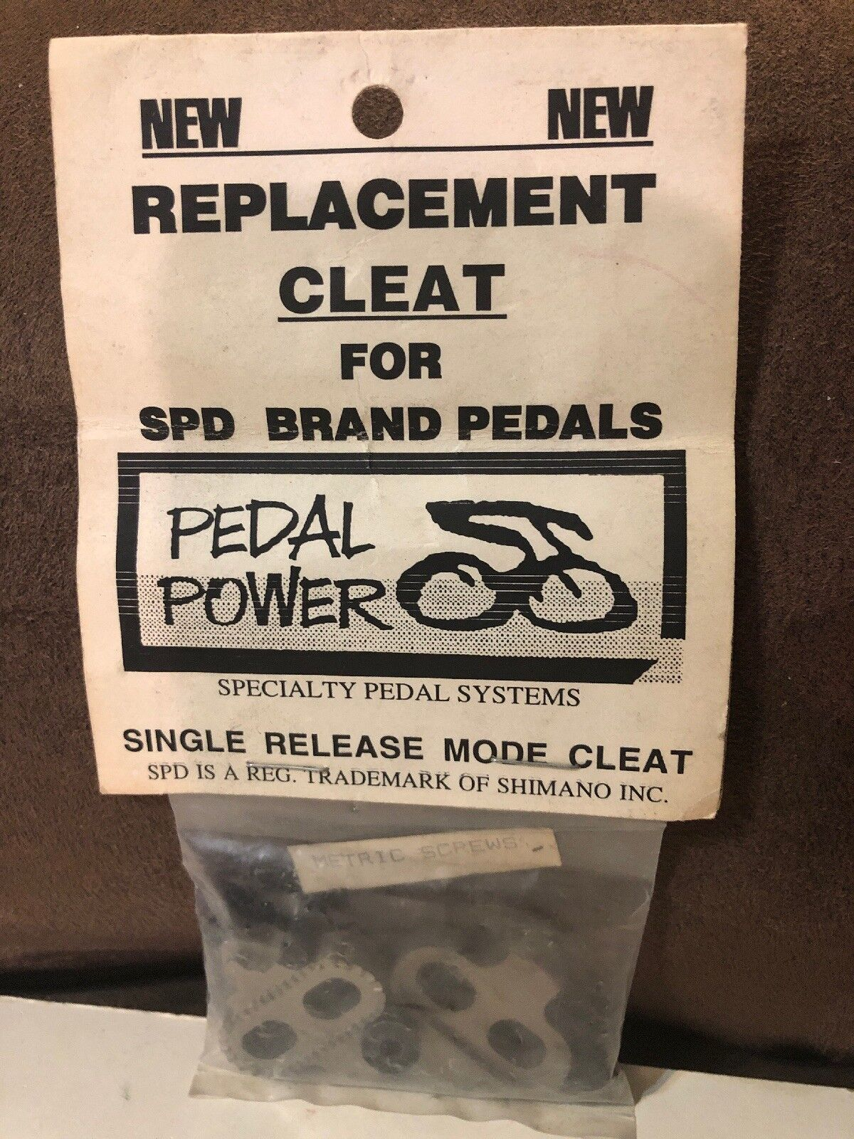 Vintage NOS Bike Bicycle Pedal Cleat for Road MTB Cycling Shimano- SPD Pedal