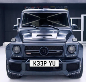 PRIVATE-NUMBER-PLATE-KEEP-YOU-RUDE-FUNNY-COOL-CHERISHED-REGISTRATION-034-K33-PYU-034