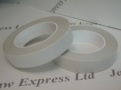 Double Sided Adhesive Sticky Tissue Tape Finger Tear various widths /& lengths
