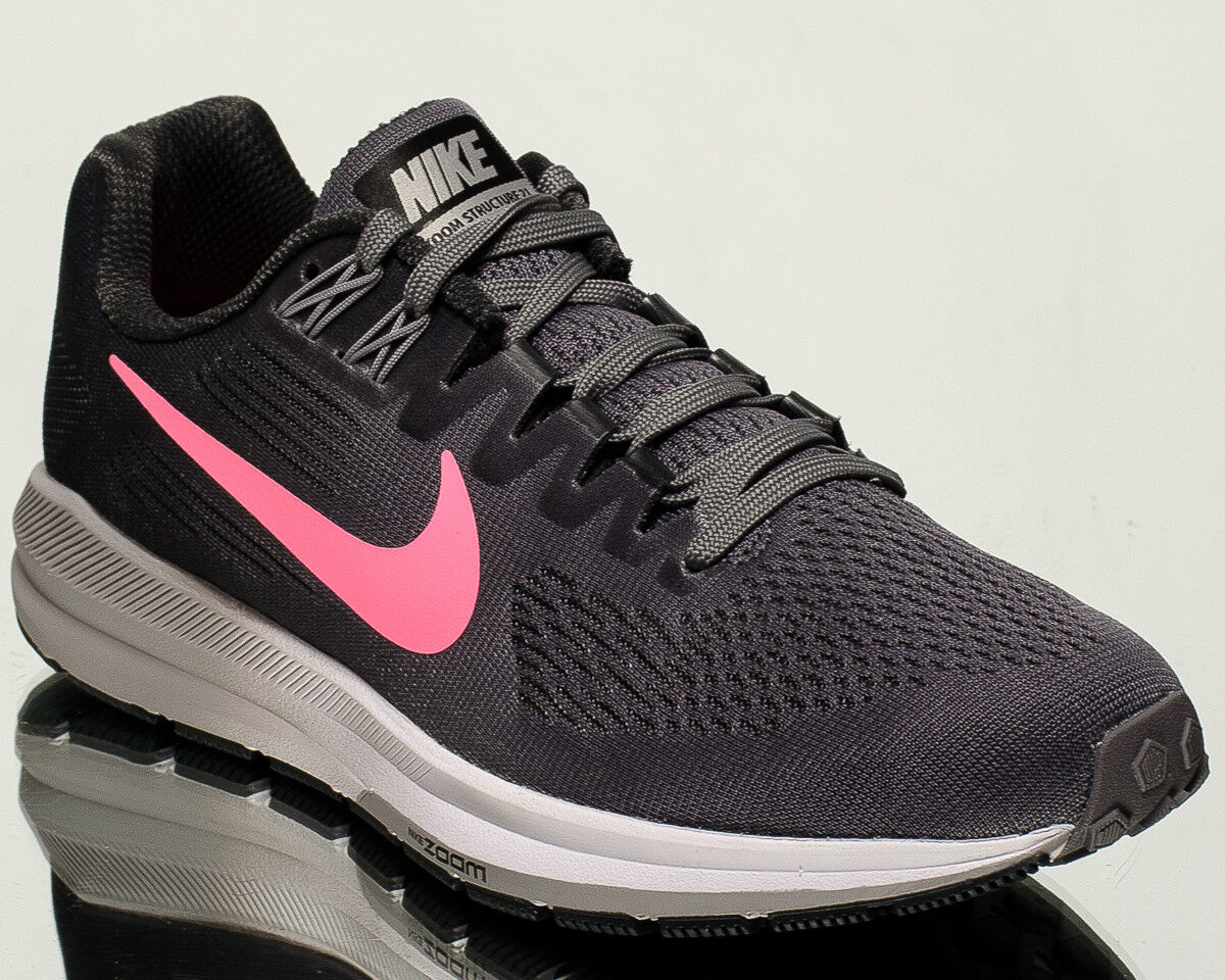 Nike Wmns Air Zoom Structure 21 women running sneakers NEW gunsmoke 904701-004 Great discount
