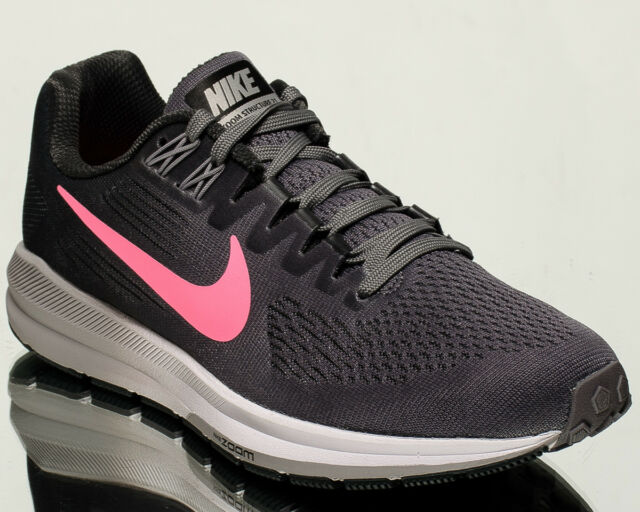 cfc262ab2c8 Nike Wmns Air Zoom Structure 21 women running sneakers NEW gunsmoke  904701-004