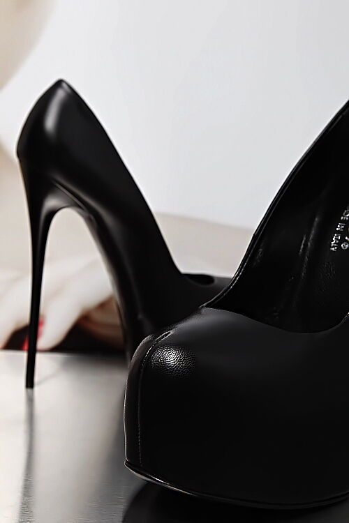 MADE IN IN IN ITALY SUPER SEXY HIGHEST HEELS PUMPS SCHUHE BD5 LEDER SCHWARZ 39 98ede2