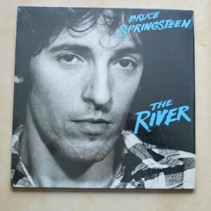 BRUCE-SPRINGSTEEN-The-River-US-orig-double-vinyl-LP-with-insert-amp-inners-Nr-Mint