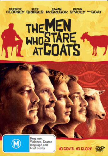 1 of 1 - The Men Who Stare at Goats NEW DVD (Region 4 Australia) George Clooney