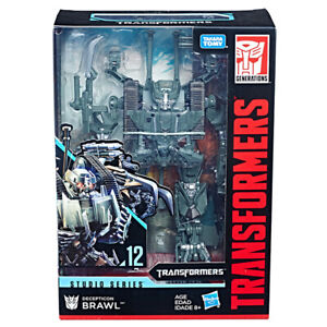 Transformers-Hasbro-Brawl-Voyager-Class-Studio-Series-ss12-Action-Figure-In-Box