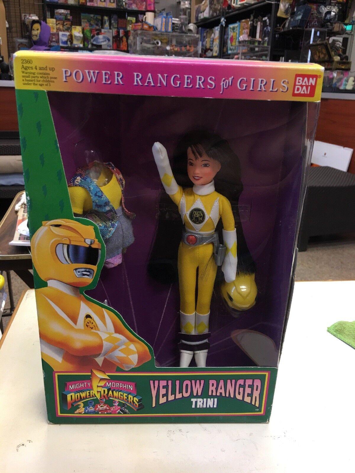 1994 Mighty Mighty Mighty Morphin Power Rangers Trini Yellow Ranger Sealed MIB Thuy Trang dd1a35