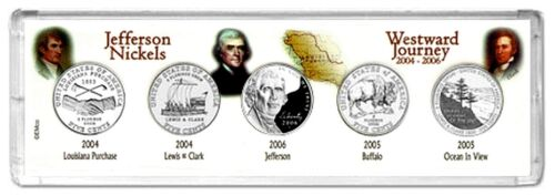 WESTWARD JOURNEY 2004-D 2005-D and 2006-D 5-Coin COLLECTOR SET DENVER MINT