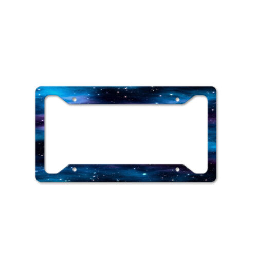 Space Auto Car License Plate Frame Tag Holder