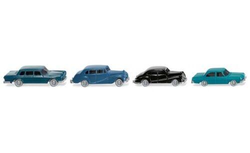 1:160 #091404 Wiking quattro vagoni classica