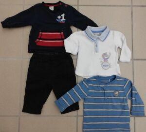 4 teiliges Marken Jungen Bekleidungspaket Gr116 Petit Bateau, Kanz, SÓliver,TOP