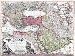 MAP-ANTIQUE-SEUTTER-TURKEY-OTTOMAN-EMPIRE-PERSIA-ARABIA-ART-PRINT-POSTER-BB8215