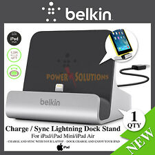 Belkin Charge Sync Lightning Dock Stand for iPad Pro Air Mini iPhone 6 6s 5 5s