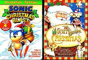Sonic Christmas.Details About Sonic Christmas Blast Dvd The Night Before Christmas Dvd