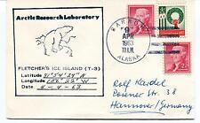 1963 Arctic Research Lab Fletcher's Island Barrow Alaska Polar Antarctic Cover