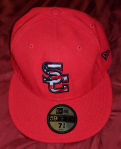 sale retailer 654d7 5d9b5 ... italy image is loading syracuse chiefs new era 59thirty fitted hat cap  f45aa ded20