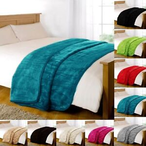 NEW-LUXURY-FAUX-FUR-THROW-BLANKET-MINK-Sofa-Bed-Single-Double-King-SOFT-amp-WARM