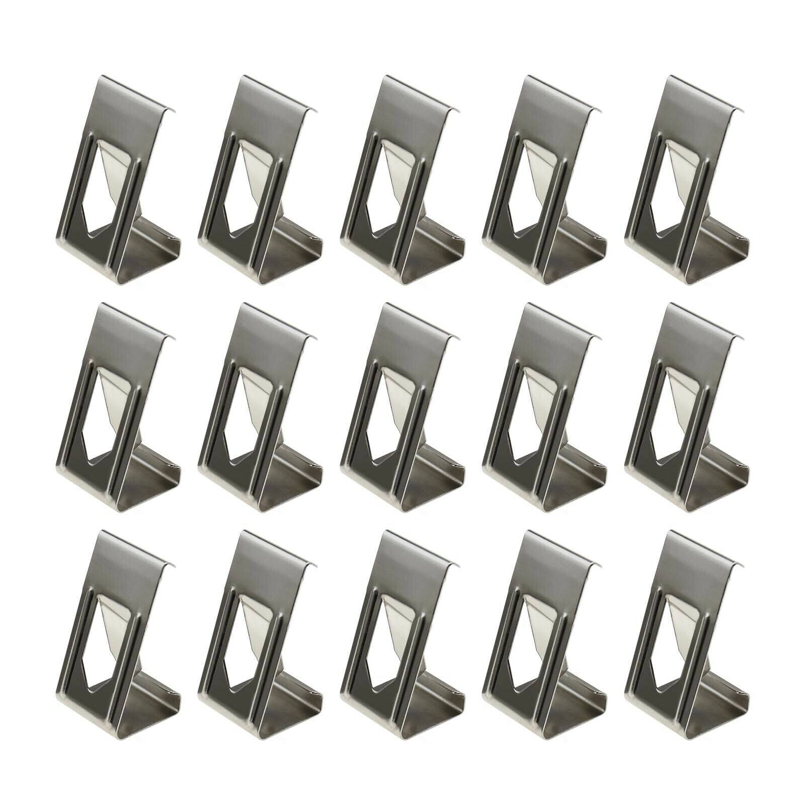 50x/100x 3D Printer Heated Bed Securing Clips Holder Metal Spring Turn Clamps