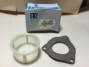 THERMO KING FUEL FILTER & GASKET KIT SEL 10-262 | eBay
