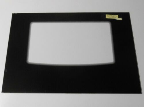 Frigidaire Range Door Glass   316406401   BLACK   BDG01