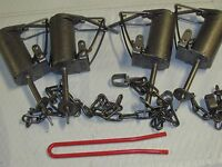 4 - Duke Dp Dog Proof Coon Traps & 1 Dp Setter Trapping Raccoon Sale