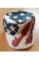 Cuba Cap USA, Stars and Stripes, Western, Trucker, motociclista, unisex