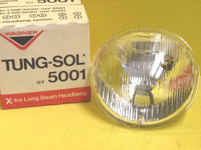 Wagner Tung-Sol Xtra Long Beam Headlamp 12V 5001