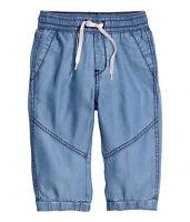 H&M &DENIM Caprijeans/ Jeans Loose Fit Gr.98, 104, 110, 116, 122, 128 blau*NEU!*