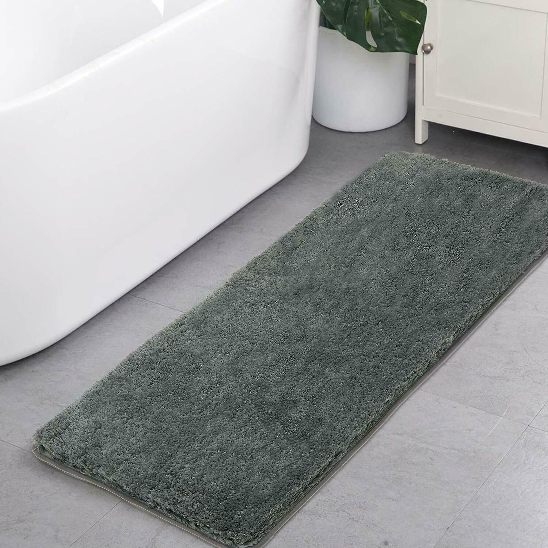 Shaggy Bathroom Rugs Runner Haocoo Bathroom Floor Mats Carpet Non Slip Water Abs For Sale Online