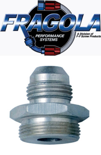 Fragola Performance Systems 491958#10 X 7//8-20 Male Adapter-Dual Feed