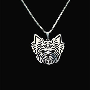 Yorkshire-Terrier-Silver-Charm-Pendant-Necklace-Dog-Lover-Friend-Gifts-Yorkie