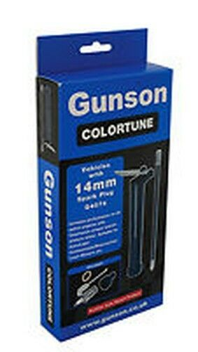 Gunson 14mm Colortune Single plug Kit G4074 Tune-up plug Petrol LPG