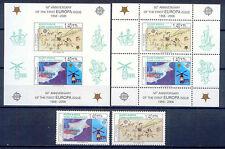 50 Jahre Europamarken, Cept, Space,Schiff-Türk.Zypern - 630-31, Bl.24 A/B ** MNH