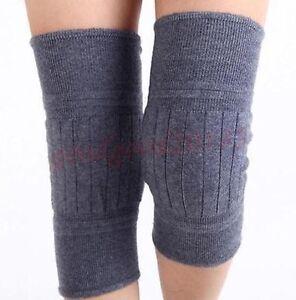 Fashion Womens Warmers Leg Men's Wool Knee Thigh High ...
