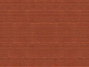 Noch-N-1-160-56965-3D-Kartonplatte-Dachziegel-rot-GMK-World-of-Modelleisenbah