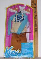 Mattel Barbie Ken 1961 Shirt Pants Glasses Boots Clothes Set 2013 Discontinued