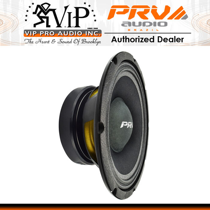 PRV Audio 10MB400-4 10  High Output Mid Bass Loudpspeaker 4-Ohms - PRV 10  Mid