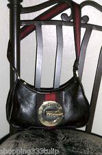 RED by Marc Ecko Brown Pebbled Faux Leather Handbag/Purse/Shoulder Bag EUC