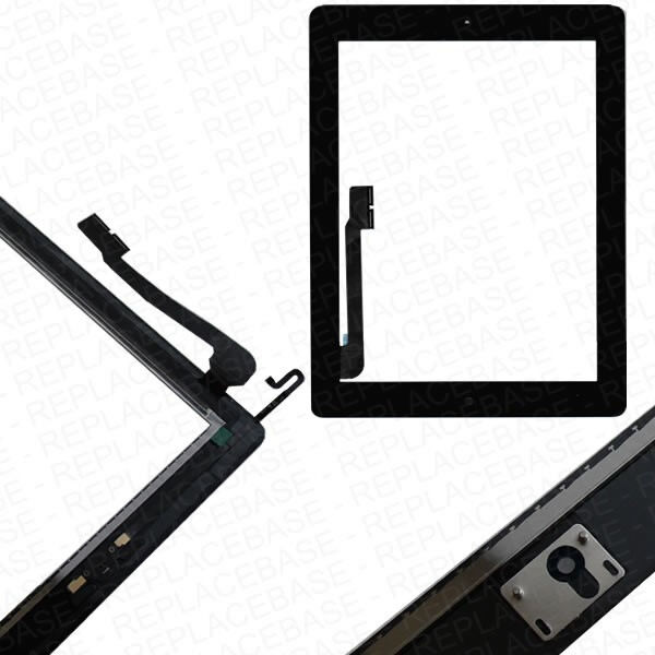Replacement Touch Screen Digitizer Glass Assembly For Apple iPad 4 Retina Black