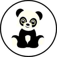 Panda Cute Animal Cuddly Panda Cub Novelty Humorous Funny 25mm Button Pin Badge